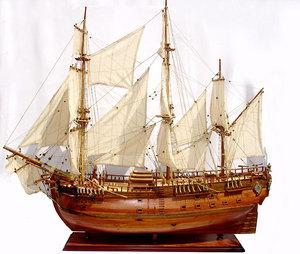 maquette de bateau, voilier, runabout HMS Endeavour (Cook) (coque 76 cm) Gia Nhien Quirao idées cadeaux