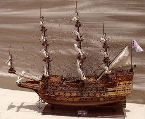 maquette de bateau, voilier, runabout Sovereign of the Seas - (coque 80 cm) Gia Nhien Quirao idées cadeaux
