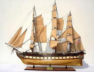 maquette de bateau, voilier, runabout USS Constitution - (coque 120 cm) Gia Nhien Quirao idées cadeaux