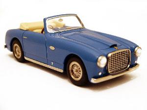 miniature de voiture Ferrari 166 Inter Cabriolet Bertone  1950 Bleu Ilario Quirao idées cadeaux