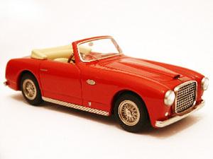 miniature de voiture Ferrari 166 Inter Cabriolet Bertone  1950 Rouge Ilario Quirao idées cadeaux