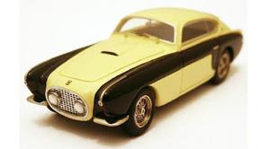 miniature de voiture Ferrari 212 Inter Vignale actual car Ivoire/noir Ilario Quirao idées cadeaux