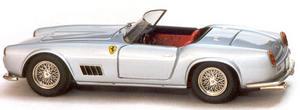miniature de voiture Ferrari 250 GT LWB California 1959 Route Gris Ilario Quirao idées cadeaux