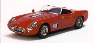 miniature de voiture Ferrari 250 GT LWB California Nurburgring 1960 N°78 Rouge Ilario Quirao idées cadeaux