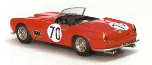 miniature de voiture Ferrari 250 GT LWB California N° 70 1er GT Sebring 1959 Ilario Quirao idées cadeaux