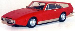 miniature de voiture Ferrari 330 GT Drogo 1969 Restaurée Ilario Quirao idées cadeaux