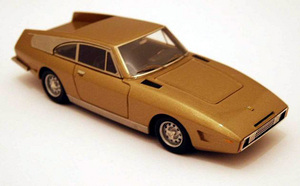miniature de voiture Ferrari 330GT Drogo 1969  The Golden Car  Ilario Quirao idées cadeaux