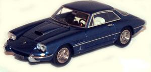 miniature de voiture Ferrari 400SA Superfast 4  2207SA Double Phares 62 Bleu Ilario Quirao idées cadeaux