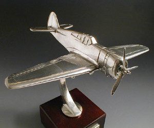 maquette d'avion Curtiss Hawk H75 Serge Leibovitz Quirao idées cadeaux