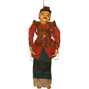 Marionnettistes de Birmanie Reine 80cm