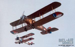 maquette d'avion De Havilland DH-9 (Wasp) Bob Dros - Bel Air Models Quirao idées cadeaux