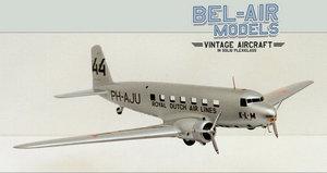 maquette d'avion Douglas DC-2 Bob Dros - Bel Air Models Quirao idées cadeaux