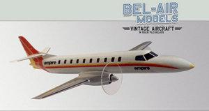maquette d'avion Swearingen Metro II Bob Dros - Bel Air Models Quirao idées cadeaux