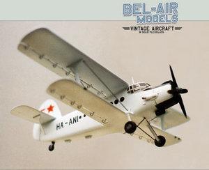 maquette d'avion Antonov AN-2 Kukuruznik Bob Dros - Bel Air Models Quirao idées cadeaux