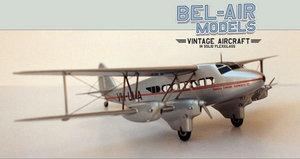 maquette d'avion De Havilland DH-86 Express Bob Dros - Bel Air Models Quirao idées cadeaux