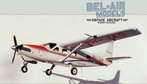 maquette d'avion Cessna 208 Caravan Bob Dros - Bel Air Models Quirao idées cadeaux