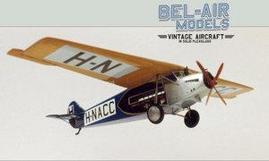 maquette d'avion Fokker F VII Bob Dros - Bel Air Models Quirao idées cadeaux