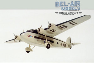 maquette d'avion Savoia Marchetti S 74 Bob Dros - Bel Air Models Quirao idées cadeaux