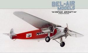 maquette d'avion Fokker F 10a Super Trimotor Bob Dros - Bel Air Models Quirao idées cadeaux
