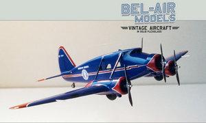 maquette d'avion Stinson Model A Bob Dros - Bel Air Models Quirao idées cadeaux