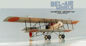 maquette d'avion Farman HF22 Bob Dros - Bel Air Models Quirao idées cadeaux