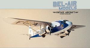 maquette d'avion Potez 62 Bob Dros - Bel Air Models Quirao idées cadeaux