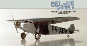 maquette d'avion Fokker F XIV Bob Dros - Bel Air Models Quirao idées cadeaux