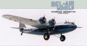 maquette d'avion Fokker F XXII Bob Dros - Bel Air Models Quirao idées cadeaux