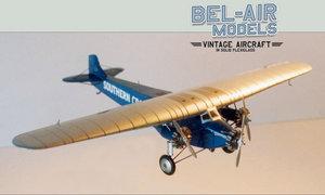 maquette d'avion Fokker F VIIb3m Southern Cross Bob Dros - Bel Air Models Quirao idées cadeaux