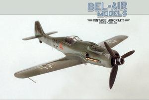 maquette d'avion Focke-Wulf FW-190 D9 Bob Dros - Bel Air Models Quirao idées cadeaux
