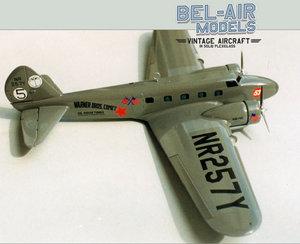 maquette d'avion Boeing Model 247D Bob Dros - Bel Air Models Quirao idées cadeaux