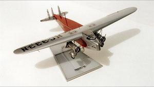 maquette d'avion Fokker F 32 Bob Dros - Bel Air Models Quirao idées cadeaux