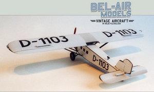 maquette d'avion Dornier B Merkur Bob Dros - Bel Air Models Quirao idées cadeaux