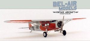 maquette d'avion Fokker F XI Bob Dros - Bel Air Models Quirao idées cadeaux