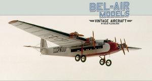 maquette d'avion Tupolev Ant-14 Bob Dros - Bel Air Models Quirao idées cadeaux