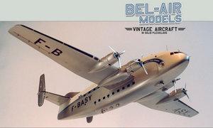 maquette d'avion Bréguet 763 Provence Bob Dros - Bel Air Models Quirao idées cadeaux