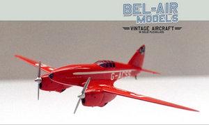 maquette d'avion De Havilland DH-88 Comet Bob Dros - Bel Air Models Quirao idées cadeaux