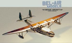 maquette d'avion Sikorsky S-42 Bob Dros - Bel Air Models Quirao idées cadeaux