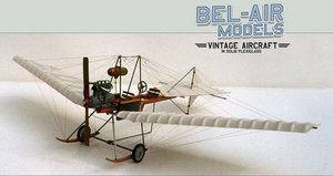 maquette d'avion Fokker Spin Bob Dros - Bel Air Models Quirao idées cadeaux