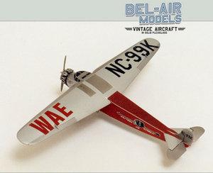 maquette d'avion Fokker Super Universal Bob Dros - Bel Air Models Quirao idées cadeaux