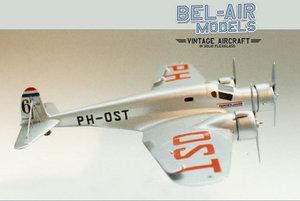 maquette d'avion Pander S4 Postjager Bob Dros - Bel Air Models Quirao idées cadeaux