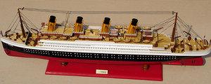 maquette de bateau, voilier, runabout Titanic - 60 cm Peint Gia Nhien Quirao idées cadeaux