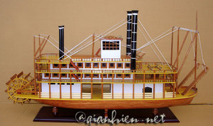 mississippi river boat 80 cm by gia nhien category ship sailboat runabout models