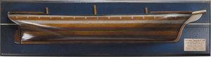 demi-coque Vaisseau  L'Argonaute  1876 Authentic Models -AM- Quirao idées cadeaux