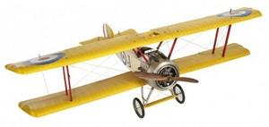 maquette d'avion Sopwith Camel  détaillé - 150 cm Authentic Models -AM- Quirao idées cadeaux