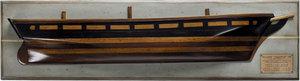 demi-coque Clipper du Thé 'Thermopylae' 1868 Authentic Models -AM- Quirao idées cadeaux