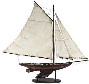 maquette de bateau, voilier, runabout Yacht Irondises, PM Authentic Models -AM- Quirao idées cadeaux