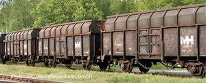 train miniature Coffret 3 wagons tombereaux  Maxhütte  (Roco 45970) Roco Quirao idées cadeaux