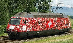train miniature Loco élec Re 460  Fußball EM 2008  SBB CFF (Roco 62396) Roco Quirao idées cadeaux