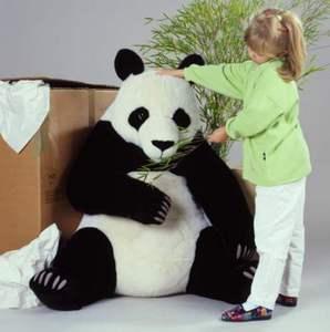 peluche k sen maxi panda 100 cm. Black Bedroom Furniture Sets. Home Design Ideas